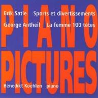 George Antheil, La femme • Eric Satie, Sports et div.