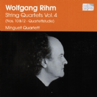 Wolfgang Rihm - String Quartets Vol.4