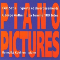 George Antheil, La femme • Eric Satie, Sports et div.