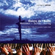 Kurtág • Schütz • Messiaen