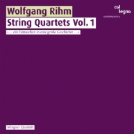 Wolfgang Rihm - String Quartets Vol.1