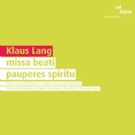 Klaus Lang - missa beati pauperes spiritu