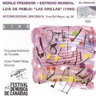 Luis de Pablo, Las Orillas • Antonin Dvorak, Symphony 8